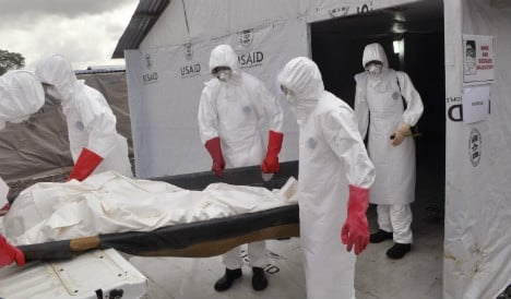 Sweden wins lead role in Europe's Ebola fight