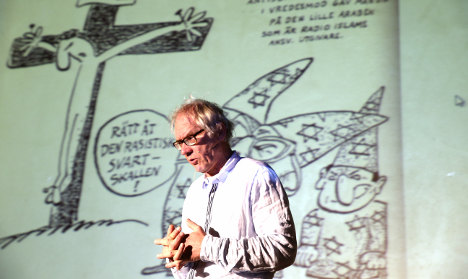 Swede calls for Mohammed cartoon printing