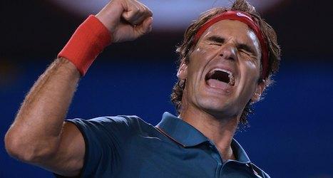 Federer survives scare to advance at Brisbane
