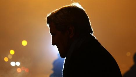 John Kerry offers Paris a 'big hug' after attack