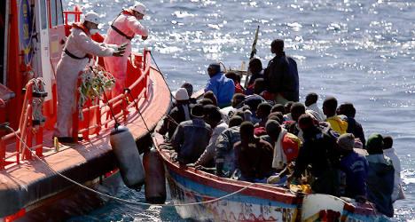 Migrants arrested over high seas massacre