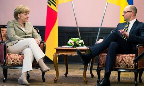 Pro-Russian hackers: We took down Merkel's site