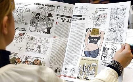 Huge Danish demand for new Charlie Hebdo issue