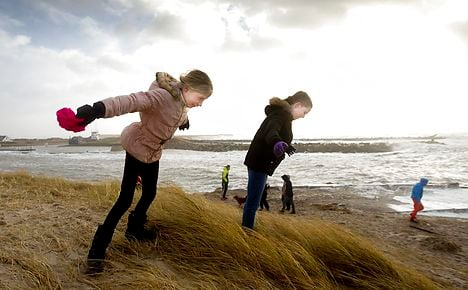 IN PICTURES: Double storms wallop Denmark