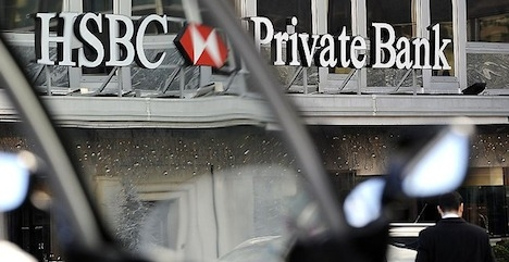 HSBC's French clients 'hid €5.8b' from tax man