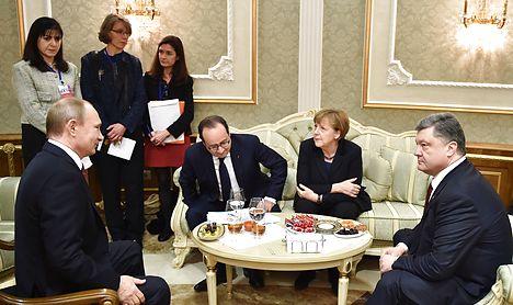 Denmark sends Ukraine aid as ceasefire reached