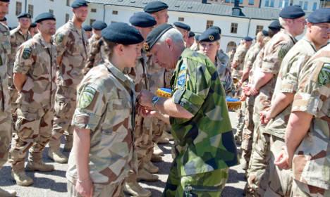 Sweden appoints special military gender advisors