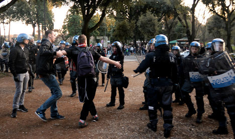 Dutch firm offers to restore Rome after riot