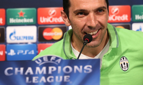 Juve's Buffon vies for Champions League glory