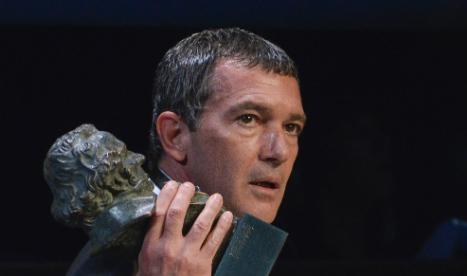 Antonio Banderas lands Spanish Goya gong