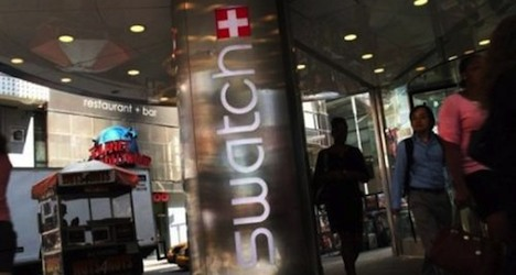 Swatch profit plunges despite higher sales
