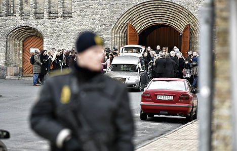 Mourners say goodbye to Copenhagen victim
