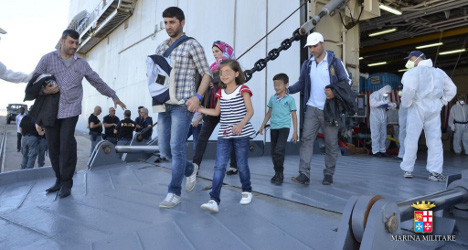 UN calls on Europe to share refugee care