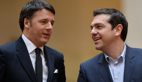 Italy's Renzi says EU-Greece deal possible