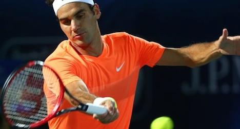 Federer off to strong start in Dubai Open