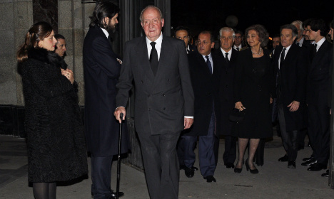 Spain ex-king appeals paternity suit