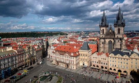 Danish teens' annual wild Prague party underway