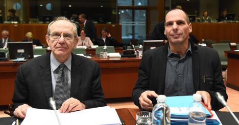 Greek talks 'not very useful': Padoan