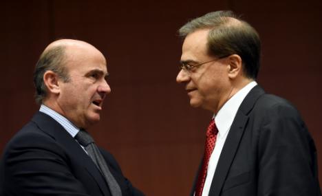 Spain seeks Greek debt payback