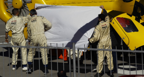 Alonso taken to hospital after testing crash