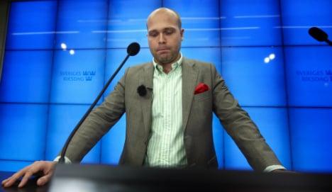 Almqvist runs Sweden Dems media push: report