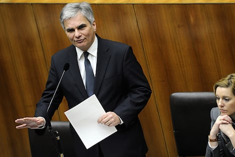 Austrian chancellor opposes arming Ukraine