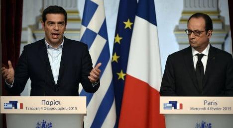 France should lead way on EU reform: Greek PM