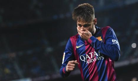 Barca president points finger in Neymar tax probe