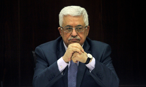 Abbas' official visit to Stockholm stirs debate