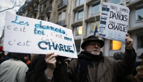 Paris shows solidarity with Copenhagen