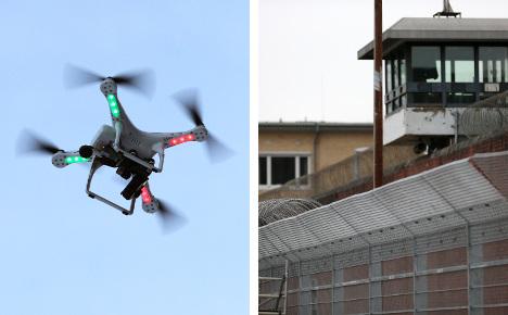 States fear drug drones flying into jails