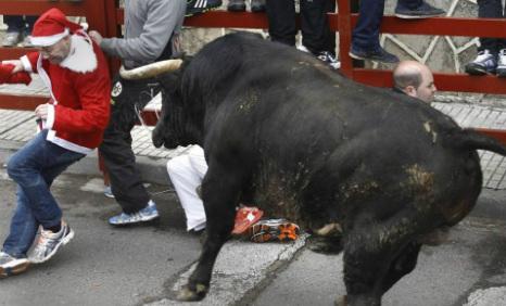 In pics: Scottish grandad gored by bull
