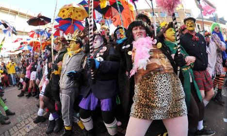Dunkirk carnival: Where crowds demand herrings