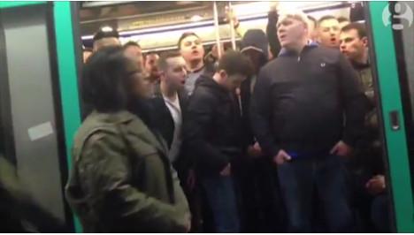 'Chelsea fans' behaviour was ugly and shameful'