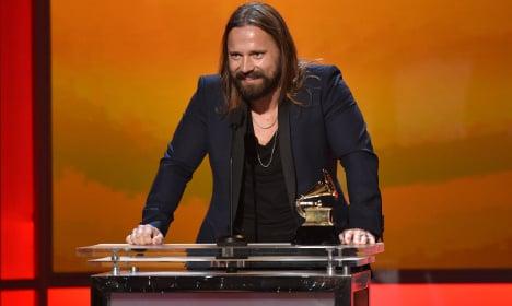 Stockholm producer Max Martin picks up Grammy