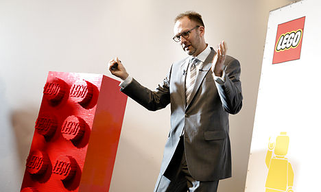 Lego CEO has 'awesome' reaction to record year