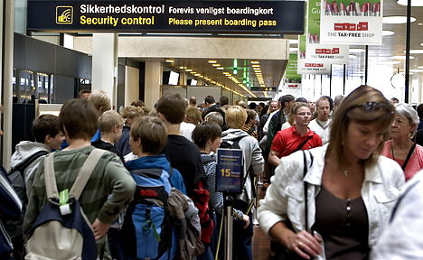 Danish airports call for fewer security controls