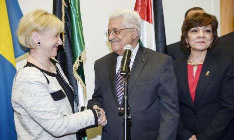 1.5 billion kronor Palestinian aid package