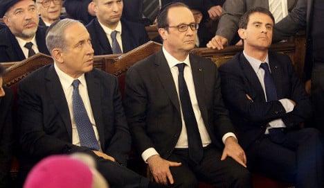 France urges Jews to ignore Netanyahu's call