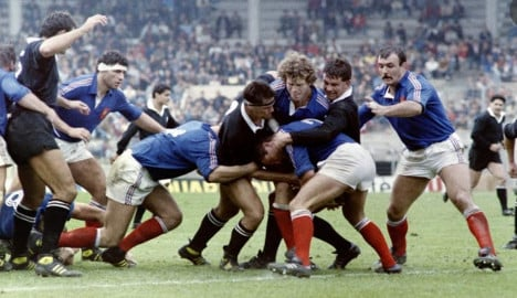 French rugby team in 1980s 'pumped on drugs'