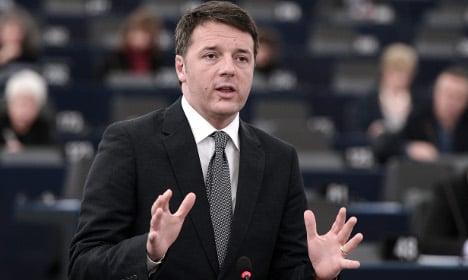 'No military intervention in Libya': Renzi