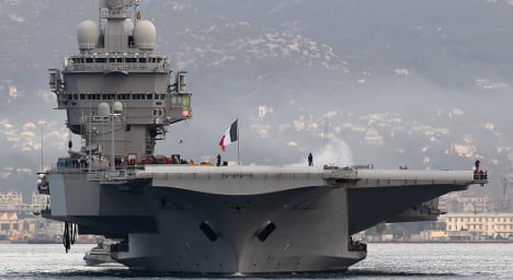 France deploys aircraft carrier to help fight Isis