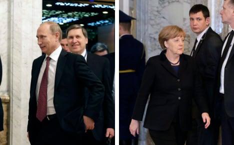 Merkel greets 'glimmer of hope' for Ukraine