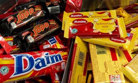 Chocolate crime wave sweeps across Sweden