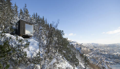 Free night in a designer cabin anyone?