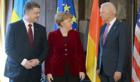 Merkel: Ukraine peace bid 'uncertain'