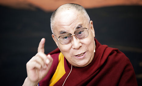 Dalai Lama has 'nothing to ask' Danish politicians