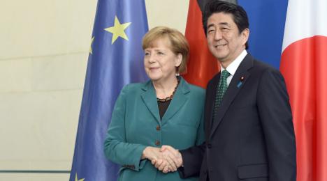 Merkel to make first Japan trip in seven years