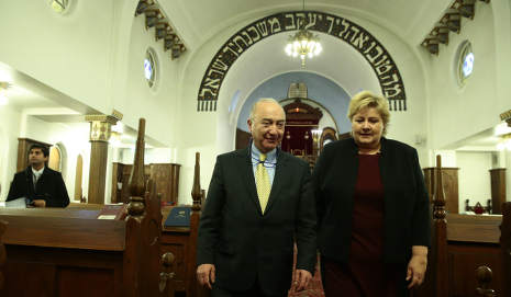 'We must fight anti-Semitism': Norway's PM