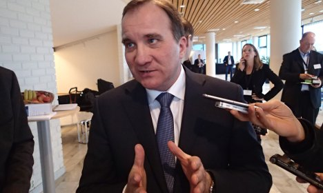 Swedish PM hits out at Russia over Ukraine